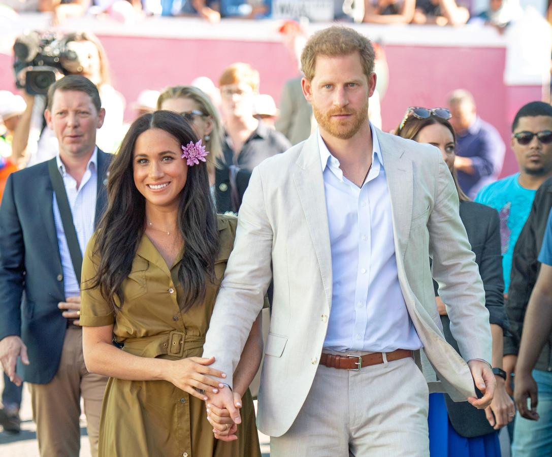 Meghan en prins Harry.