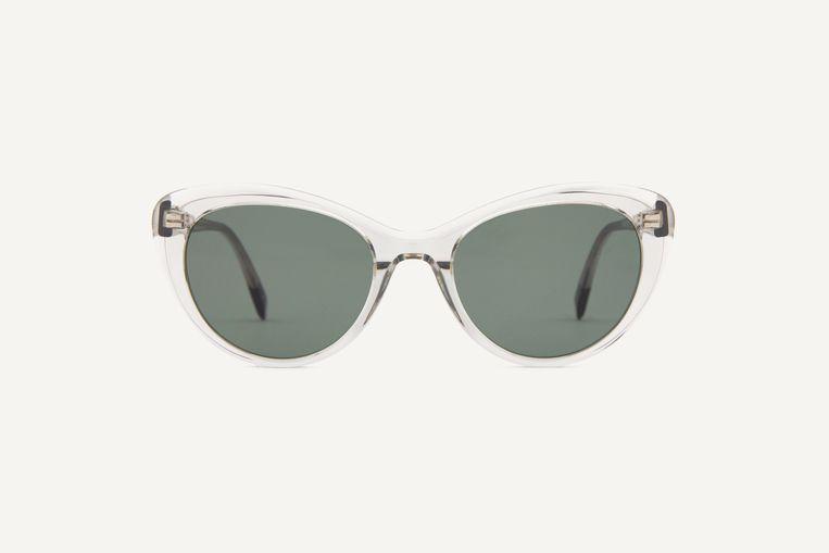 Dick Moby: brillen van gerecycled metaal of van biologisch of gerecycled acetaat. Beeld Dick Moby