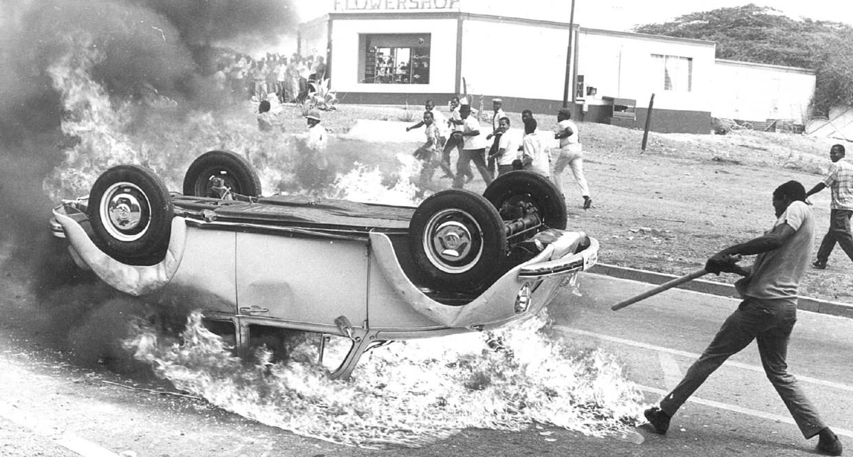 Oproer op Curaçao 1969. Beeld ANP