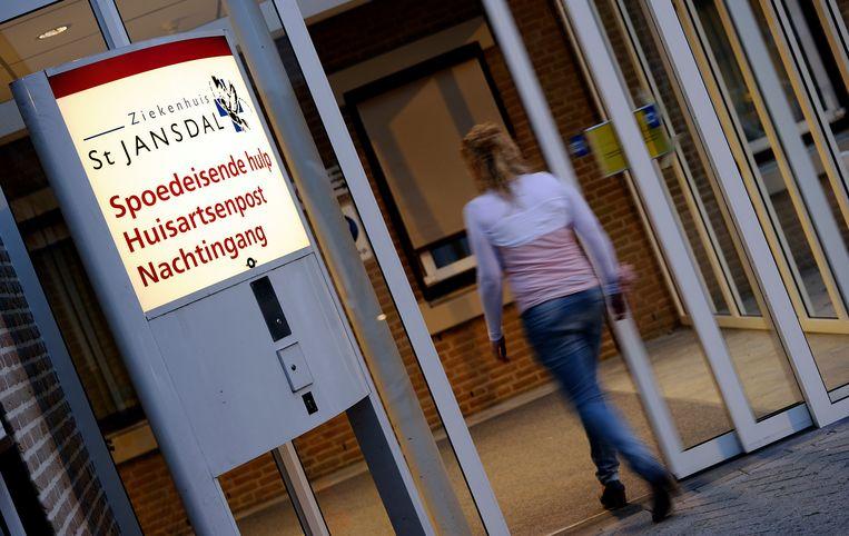 Entree van de spoedeisende Hulp van het Sint Jansdal-ziekenhuis in Harderwijk. Beeld ANP XTRA