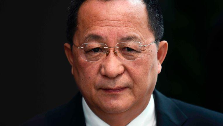Ri Yong-ho, de Noord-Koreaanse minister van Buitenlandse Zaken