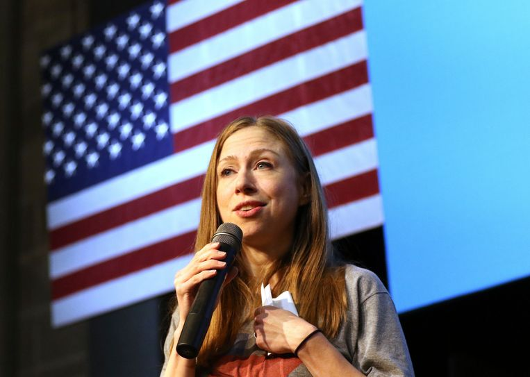 Chelsea Clinton. Beeld AP