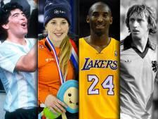 Deze sporticonen ontvielen ons in 2020: van Pluisje tot Kobe