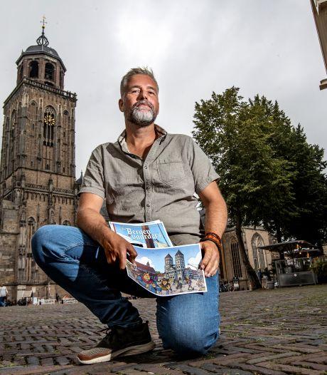 Twee jaar werk bekroond met stripboek over Deventer in de Hanzetijd: 'Tekeningen kosten week per pagina'