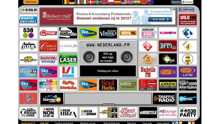 Nederland.FM Beeld Screenshot