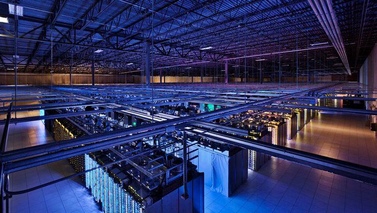 Een datacenter van Google in Hamina, Finland Beeld ap