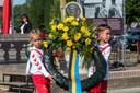 De herdenking in Driel.