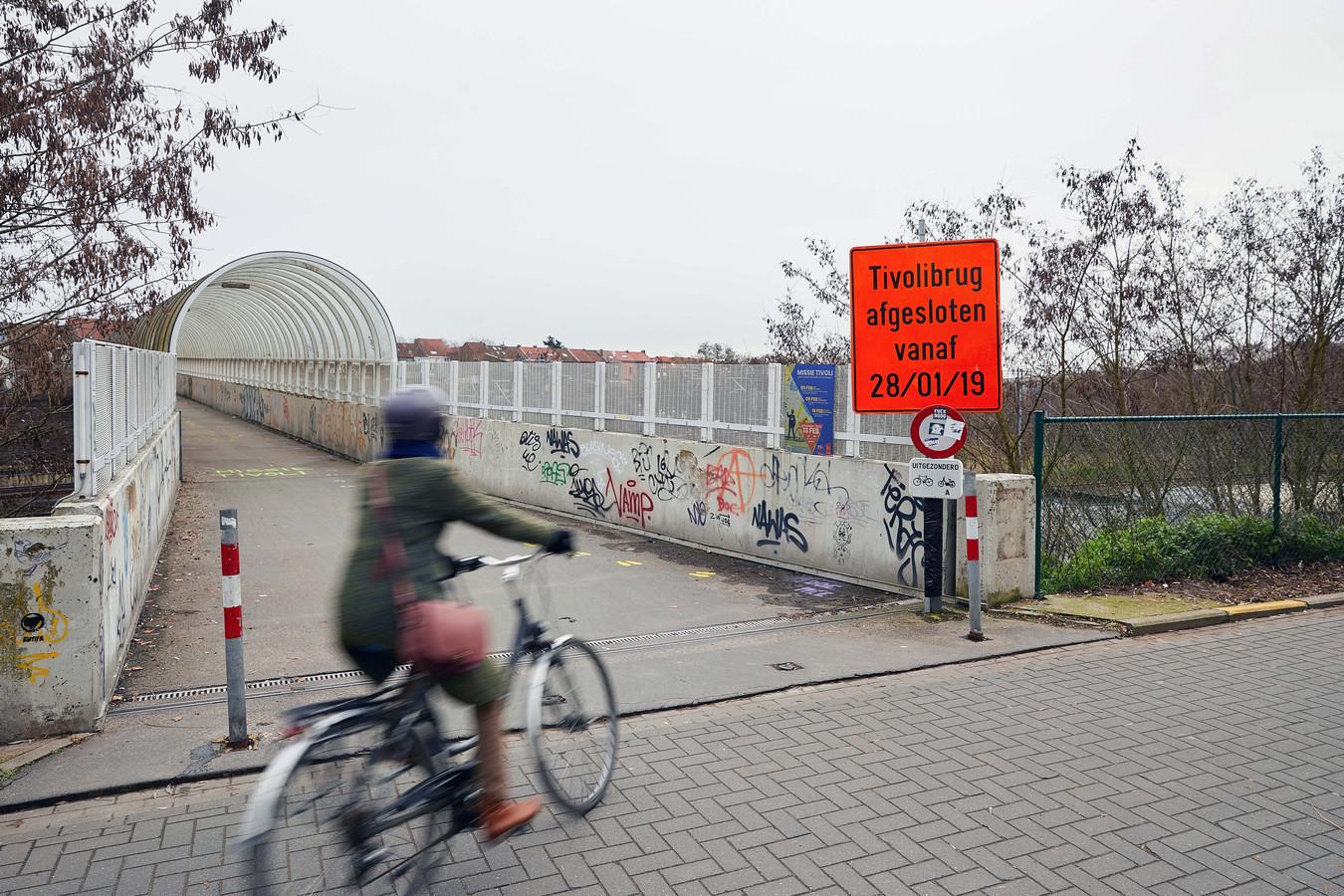 De werken voor de fietstunnel onder de Tiensesteenweg en fietspad langs spoor starten op 21 januari. Foto rv
