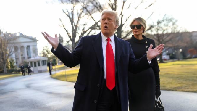 Donald en Melania Trump lieten zich in januari in alle stilte inenten met coronavaccin