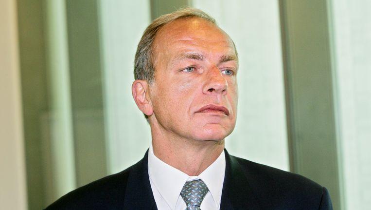 Voormalig politiechef Peter De Wolf werd geschorst nadat hij dronken een ongeval veroorzaakte en dat trachtte te verdoezelen. Beeld BELGA