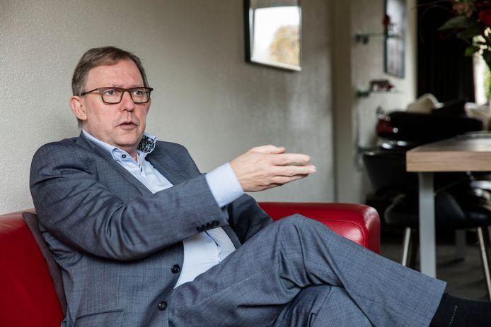 Oud-wethouder van Helmond, Peter Tielemans, hier op een archieffoto