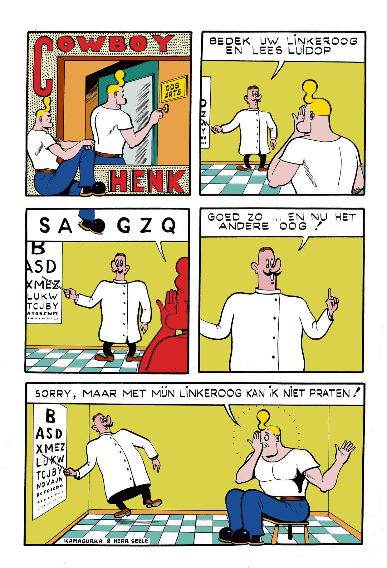 Cowboy Henk 19 Beeld Kamagurka