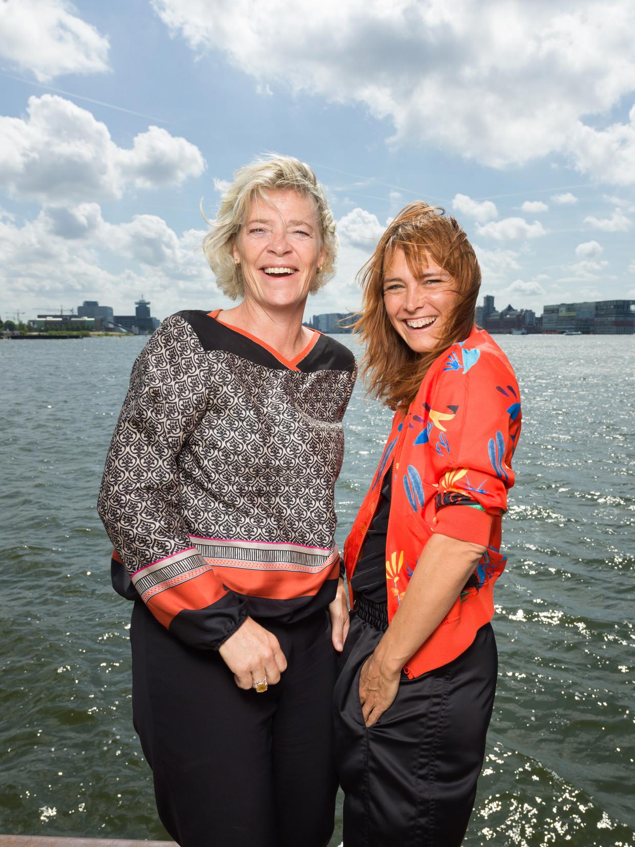 Marry de Gaay Fortman en Wende Snijders.
