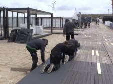 Dorp ten grootte van tien voetbalvelden gebouwd voor finish Volvo Ocean Race