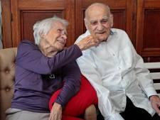 Record in Westvoorne: Henk en Tinie al 72 jaar getrouwd