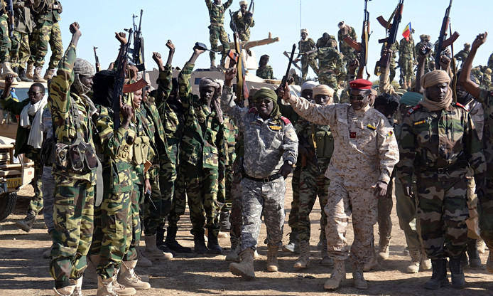 Strijders van Boko Haram