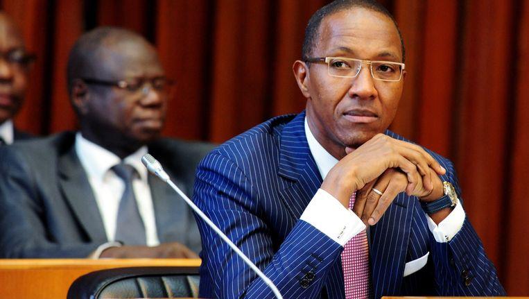 Abdoul Mbaye, zondag opzij gezet als premier van Senegal. Beeld AFP
