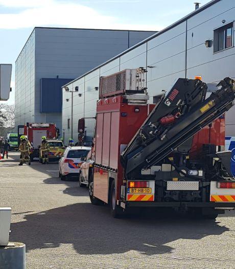 Werknemer zwaargewond nadat hij bekneld raakt in silo in Barneveld