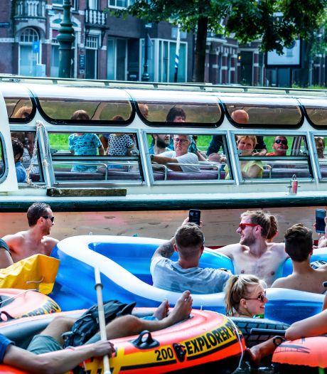 Giethoornse toestanden in Utrechtse grachten, maar zo moet het voor iedereen leuk blijven