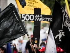 Le Brésil franchit le seuil des 500.000 morts
