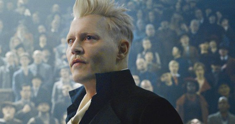 Johnny Depp in de nieuwe trailer van 'Fantastic Beasts: The Crimes of Grindelwald'. Beeld Warner Bros