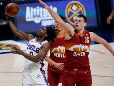 Denver s'impose face à Philadelphie, les Clippers surpris par Orlando