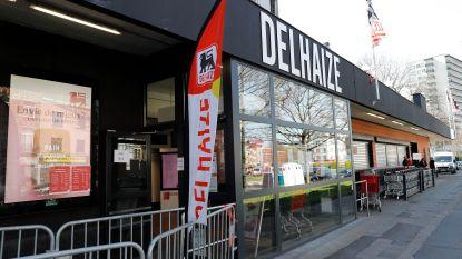 Staking bij Delhaize afgelopen: hogere premie en mondmaskers voor personeel