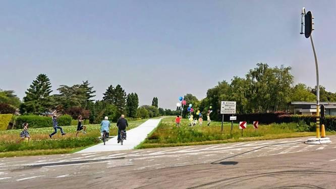 Fietssnelweg aan Colmar en park op overkapping E17? Kortrijk lost beelden om bij weg te dromen
