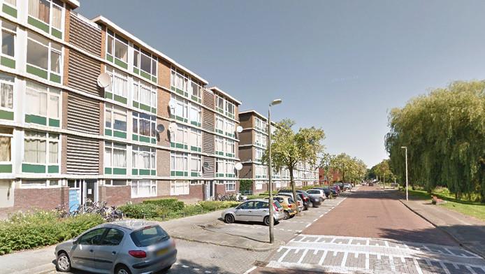 De Nijeveldsingel in Hoograven, Utrecht