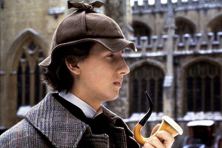 Nicholas Rowe in Young Sherlock Holmes van Barry Levinson Beeld