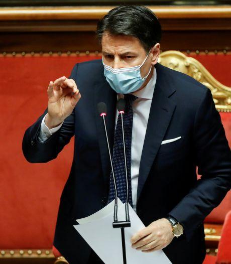 Italiaanse premier Conte kondigt ontslag aan
