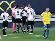 Spaanse competitie: 'Geen bewijs voor racistische uitingen van Cádiz-speler Cala'