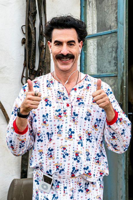 Borat gaat naar Trumps Amerika, waar zijn trucje blijkt uitgewerkt