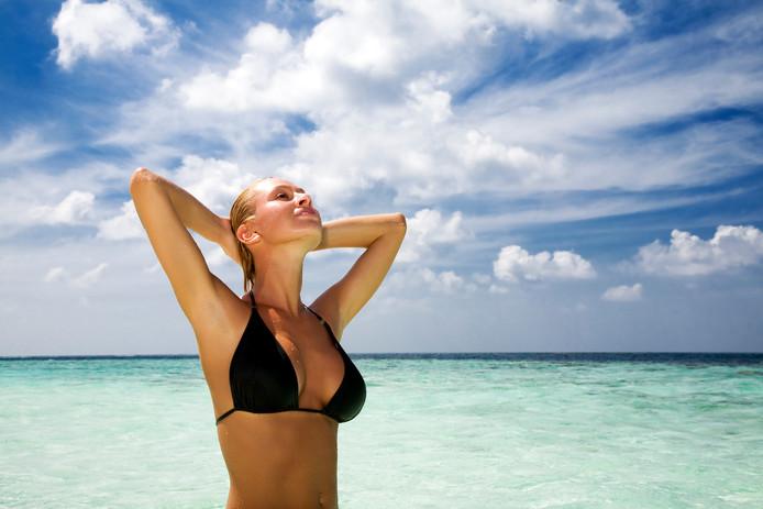 Blond op de Malediven  Foto: Dreamstime