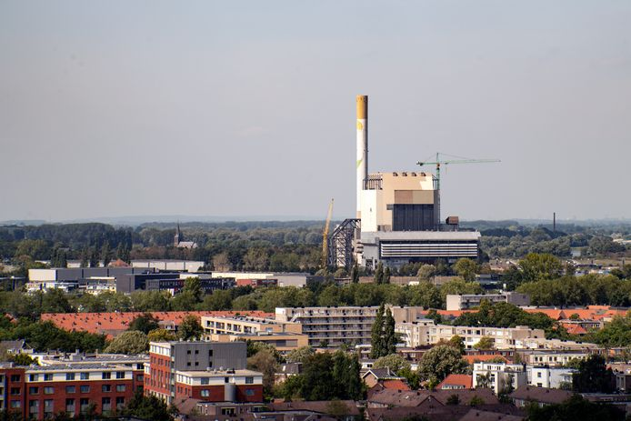 Voormalige energiecetrale en Waterkwartier - Nijmegen-West.