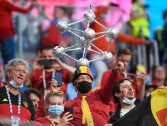 """""""Waar is dat feestje?"""" Belgische fans vieren groot feest op de tribunes in Sint-Petersburg"""