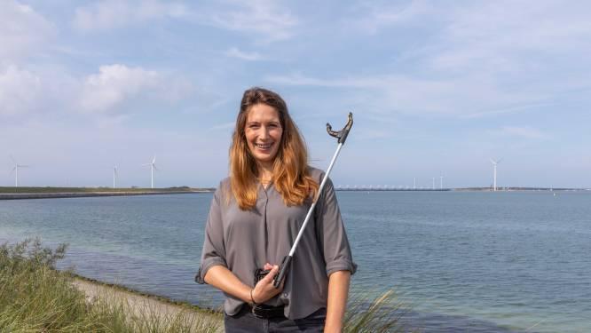 Jacqueline Baaijens doet mee aan de World Cleanup Day: 'Ik stoor me mateloos aan zwerfvuil in de natuur'