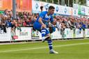 Oefenwedstrijd SC Genemuiden - PEC Zwolle, juli vorig jaar.