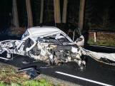 Zware crash op de Veluwe tussen Ede en Apeldoorn
