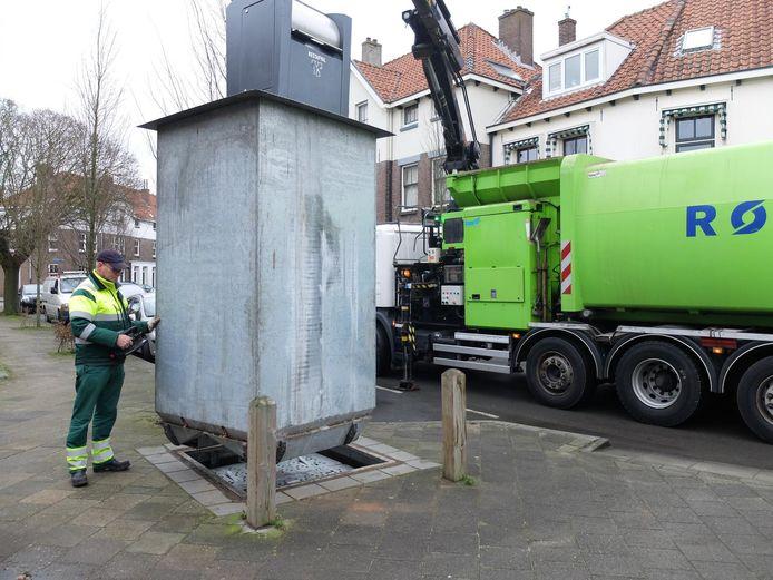 In Zwolle werkt de Rova al met het nieuwe afvalsysteem.