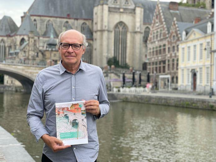 Frank Gelaude (68) werkte acht jaar aan zijn onderzoek. Al zijn kennis is nu verzameld in een boek.