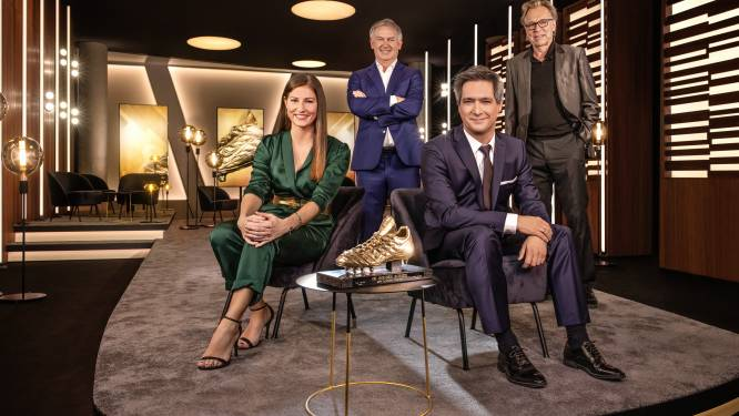 Zo ziet de Gouden Schoen-show er woensdag uit: verrassende reportages, interviews door bekende koppen en 5 kandidaat-winnaars