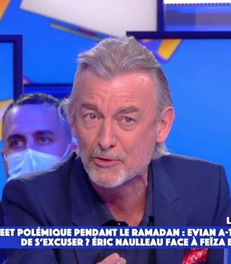 """Gilles Verdez accuse la marque Evian d'islamophobie après son tweet polémique: """"C'est scandaleux"""""""