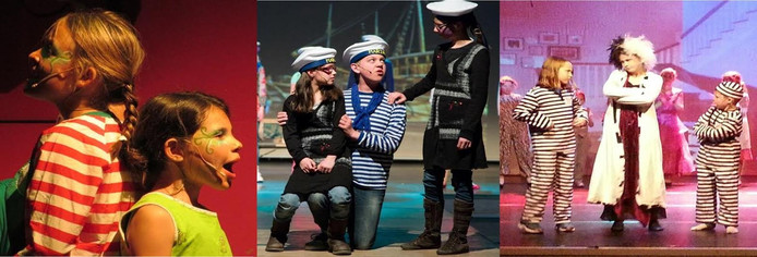 Kinderen kunnen snuffelen aan hoe het is om in een musical te spelen tijdens een gratis introductieles musical in Arnhem-Zuid