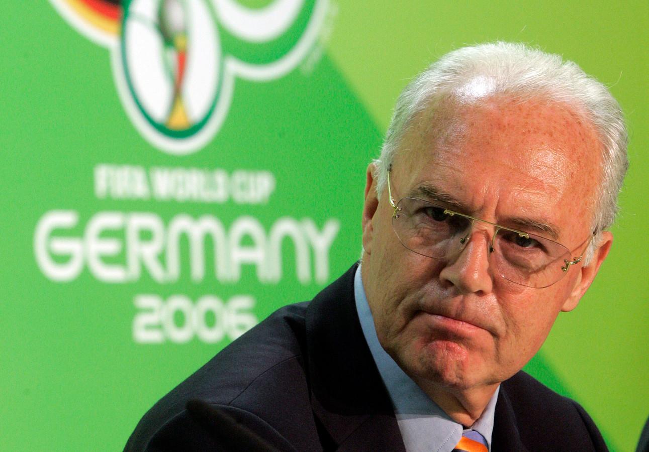 Franz Beckenbauer.