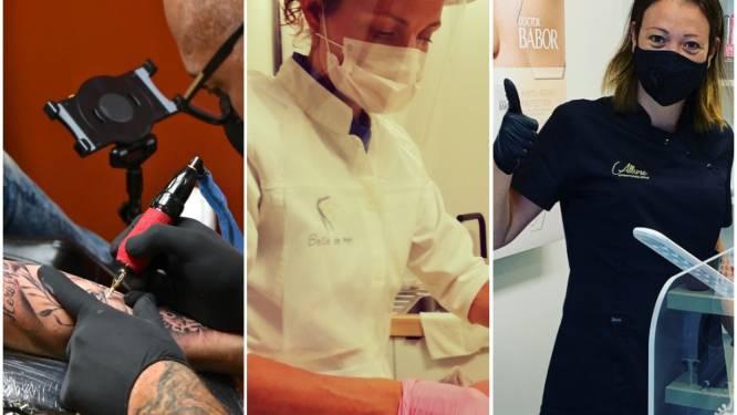 """Schoonheidsspecialisten en tattoosector zijn klaar voor heropstart: """"Mensen snakken naar wat 'me-time'"""""""