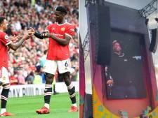 Paul Pogba danse sur la scène d'un festival quelques heures après avoir gagné avec Manchester United