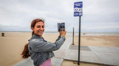 Betonpaden maken twee Oostendse stranden toegankelijk voor iedereen