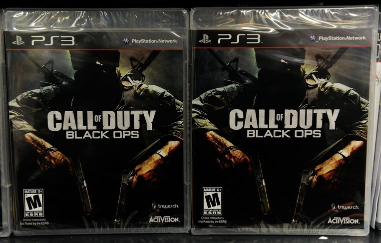 Call of Duty, uitgegeven door Activision. Beeld afp