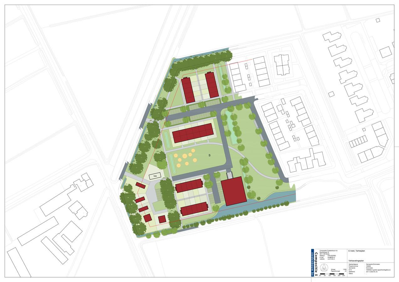 De nieuwste plannen voor het E-veld, de duurzaamste wijk van Terheijden.